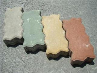 wuyan六色的码头连锁块